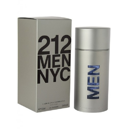 212 MEN NYC 100ML EDT SPRAY BY CAROLINA HERRERA