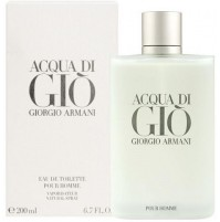 ACQUA DI GIO POUR HOMME 200ML EDT SPRAY FOR MEN BY GIORGIO ARMANI