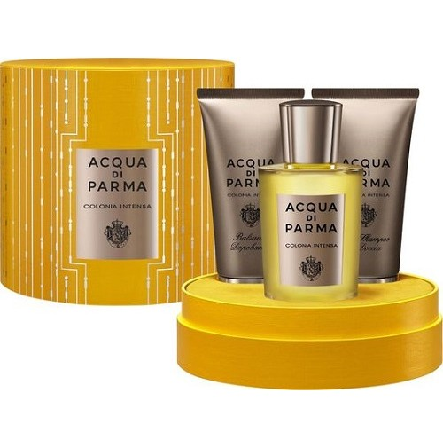 ACQUA DI PARMA COLONIA INTENSA 100ML EDC 3PC GIFT SET FOR MEN BY ACQUA DI PARMA