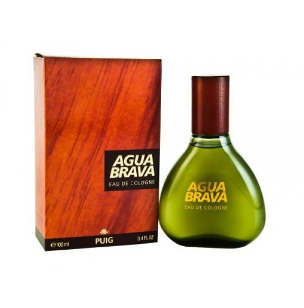 AGUA BRAVA 100ML EDC SPRAY FOR MEN BY PUIG - RARE TO FIND