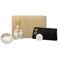BVLGARI AQVA DIVINA 65ML 4PC GIFT SET EDT SPRAY BY BVLGARI