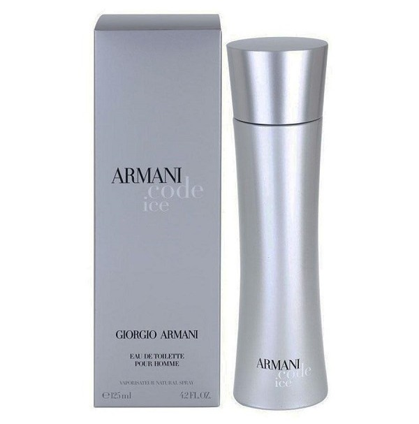ARMANI CODE ICE FOR MEN 125ML EDT SPRAY BY GIORGIO ARMANI