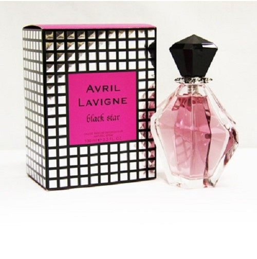 AVRIL LAVIGNE BLACK STAR 100ML EDP SPRAY FOR WOMEN BY AVRIL LAVIGNE