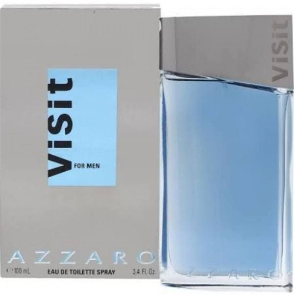 AZZARO VISIT 100ML EDT SPRAY FOR MEN BY AZZARO