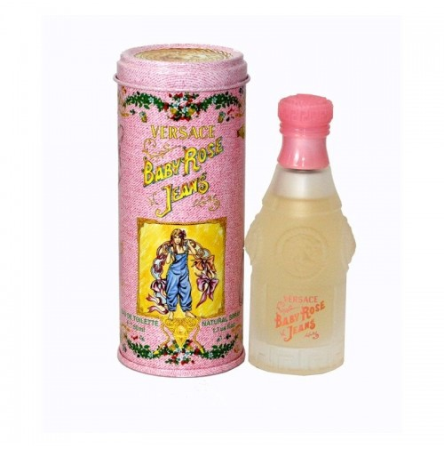 BABY ROSE JEANS 50ML EDT SPRAY FOR KIDS BY VERSACE. DISCONTINUED.