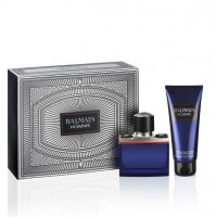 BALMAIN HOMME 60ML GIFT SET EDT PERFUME SPRAY FOR MEN BY PIERRE BALMAIN