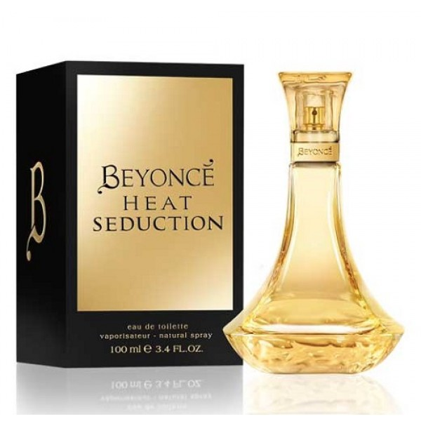 BEYONCE HEAT SEDUCTION 100ML EDT WOMENS SPRAY BY BEYONCE.