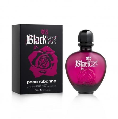 BLACK XS 30ML EDT SPRAY FOR HER BY PACO RABANNE