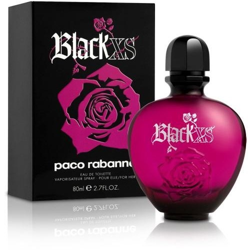 BLACK XS 80ML EDT SPRAY FOR HER BY PACO RABANNE