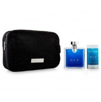 BLV POUR HOMME 100ML 3PC GIFT SET FOR MEN EDT BY BVLGARI