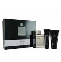 BOSS SELECTION 90ML EDT GIFT SET SPRAY FOR MEN BY HUGO BOSS