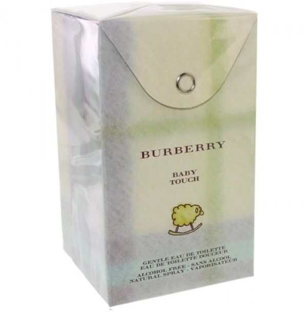 BURBERRY BABY TOUCH 100ML EDT FOR KIDS ALCOHOL FREE BY BURBERRY