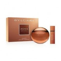 BVLGARI AQVA AMARA 100ML GIFT SET 2PC MENS EDT  PERFUME BY BVLGARI. NEW RELEASE