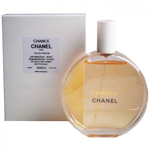 CHANEL CHANCE 100ML EDP TESTER SPRAY FOR WOMEN BY CHANEL