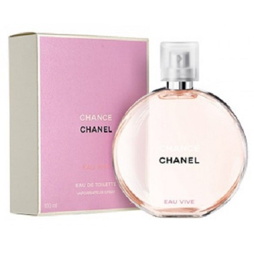 CHANEL CHANCE VIVE 100ML EDT SPRAY FOR WOMEN BY CHANEL. NEW RELEASE