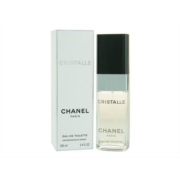 CHANEL CRISTALLE 100ML EDT SPRAY FOR WOMEN BY CHANEL - RARE TO FIND