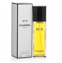 CHANEL NO.5 100ML EDT SPRAY FOR WOMEN BY CHANEL