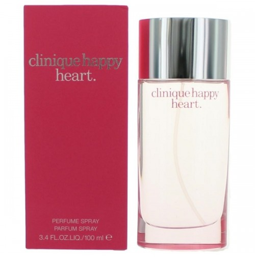 CLINIQUE HAPPY HEART 100ML EDP WOMEN PERFUME SPRAY BY CLINIQUE