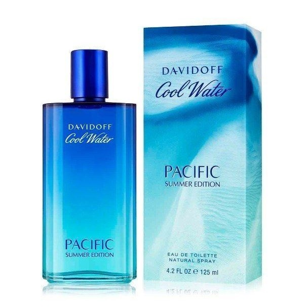 COOL WATER PACIFIC SUMMER EDITION 125ML EDT SPRAY FOR MEN BY DAVIDOFF