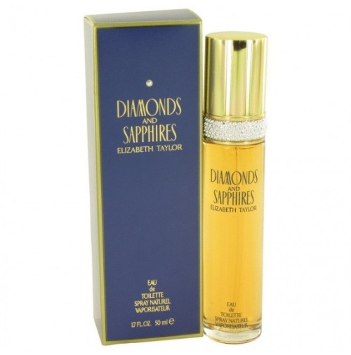 DIAMONDS AND SAPPHIRES 50ML EDT SPRAY FOR WOMEN  BY ELIZABETH TAYLOR