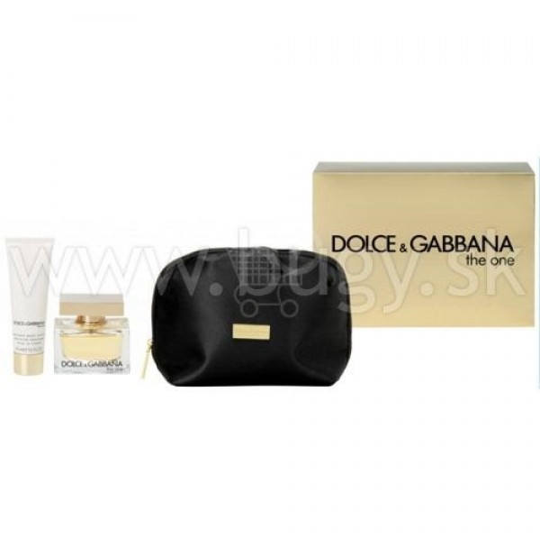 DOLCE & GABBANA THE ONE 50ML GIFT SET EDP WOMEN PERFUME BY DOLCE & GABBANA