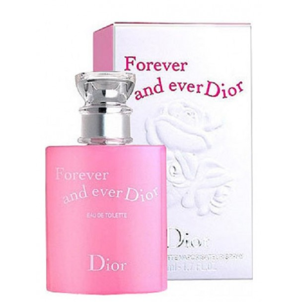 FOREVER AND EVER DIOR 50ML EDT SPRAY FOR WOMEN OLD PACKAGING BY CHRISTIAN DIOR