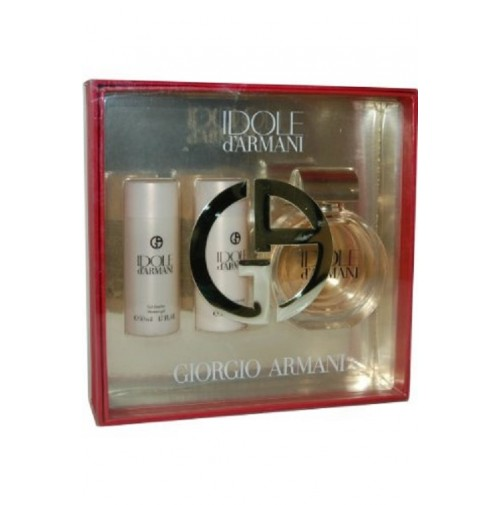 GIORGIO ARMANI IDOLE D'ARMANI 75ML GIFT SET 3PC FOR WOMEN UNBOXED BY GIORGIO ARMANI
