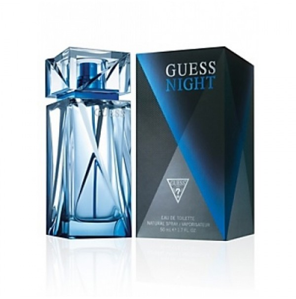 GUESS NIGHT 100ML EDT SPRAY FOR MENS PERFUME BY GUESS