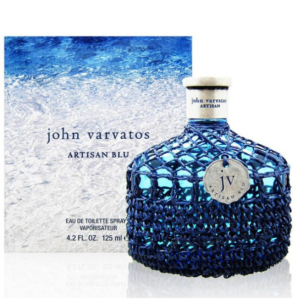 JOHN VARVATOS ARTISAN BLU 125ML EDT SPRAY FOR MEN BY JOHN VARVATOS