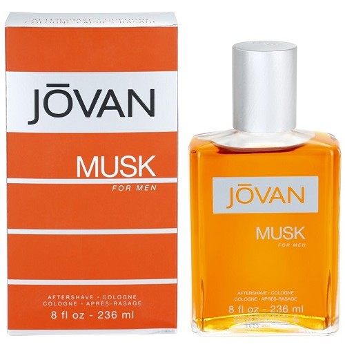 JOVAN MUSK FOR MEN 236ML AFTERSHAVE COLOGNE BY BY JOVAN