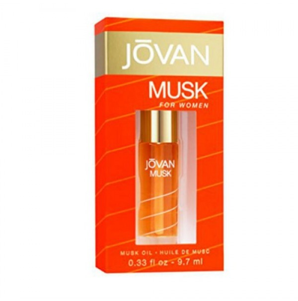 JOVAN MUSK OIL 9.6ML FOR WOMEN BY JOVAN - HARD TO FIND
