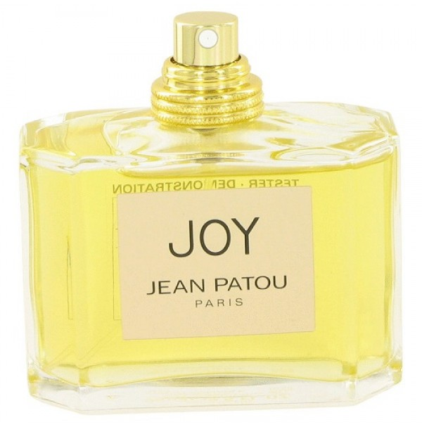 JOY 75ML EDT TESTER PERFUME SPRAY FOR WOMEN BY JEAN PATOU. RARE TO FIND
