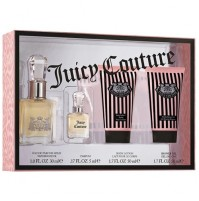 JUICY COUTURE 30ML GIFT SET 4PC EDP WOMENS PERFUME BY JUICY COUTURE