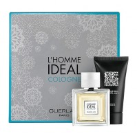 L'HOMME IDEAL 50ML EDC GIFT SET 2PC PERFUME FOR MEN BY GUERLAIN