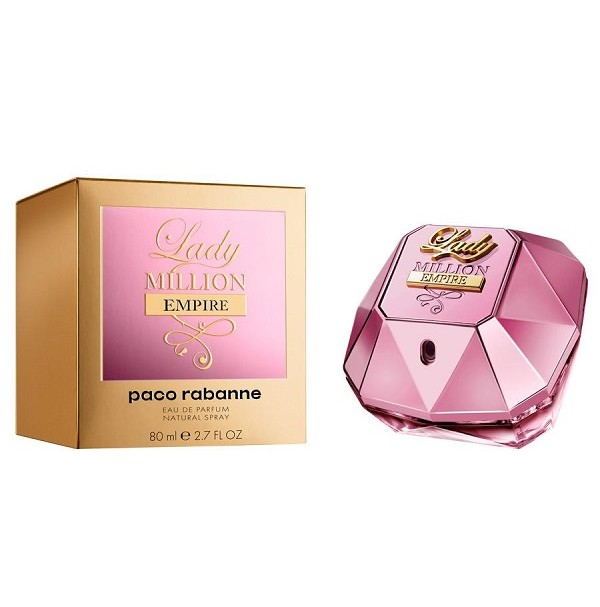 LADY MILLION EMPIRE 80ML EDP SPRAY FOR WOMEN BY PACO RABANNE