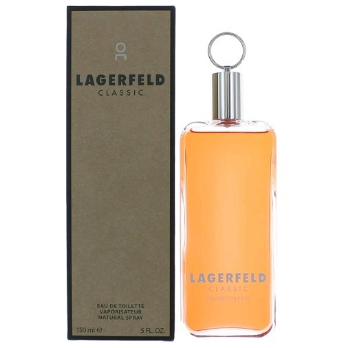 LAGERFELD CLASSIC MEN 150ML EDT SPRAY PERFUME BY KARL LAGERFELD