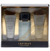 LAPIDUS POUR HOMME 100ML GIFTSET 3PC EDT FOR MEN BY TED LAPIDUS