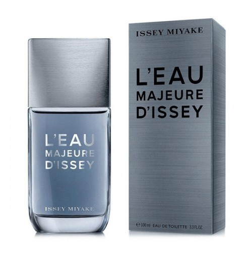 LÉAU MAJEURE DÍSSEY 100ML EDT SPRAY FOR MEN BY ISSEY MIYAKE