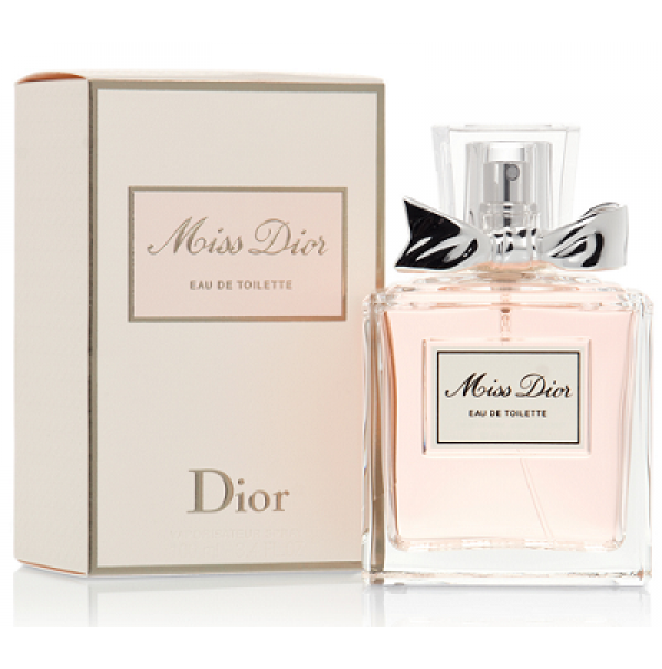 MISS DIOR 100ML EDT SPRAY FOR WOMEN (2013 -NEW SCENT) BY CHRISTIAN DIOR