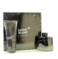 MONT BLANC LEGEND INTENSE 50ML 2PC GIFT SET MENS PERFUME SPRAY EDT BY MONT BLANC