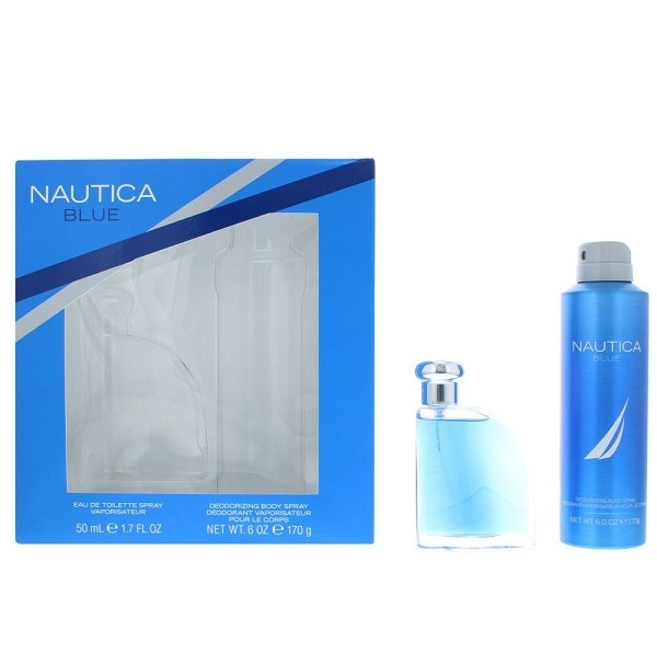 NAUTICA BLUE 50ML  GIFT SET 2PC FOR MEN EDT BY NAUTICA