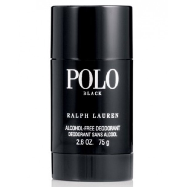 POLO BLACK DEODORANT STICK 75G FOR MEN BY RALPH LAUREN