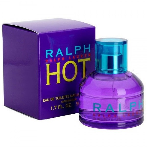 RALPH HOT 100ML EDT SPRAY FOR WOMEN BY RALPH LAUREN - RARE TO FIND