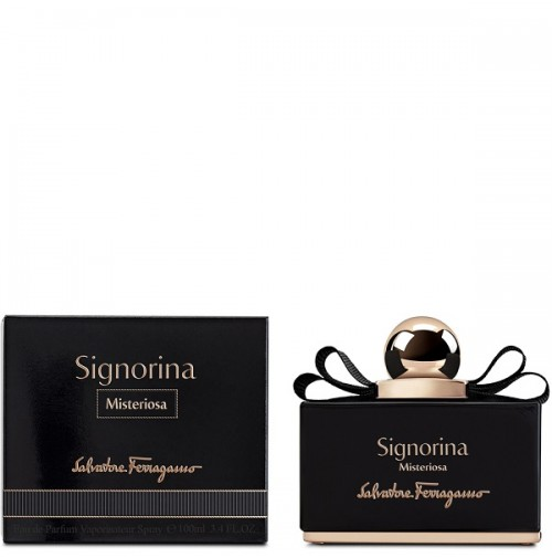 SIGNORINA MISTERIOSA 100ML EDP SPRAY FOR WOMEN BY SALVATORE FERRAGAMO