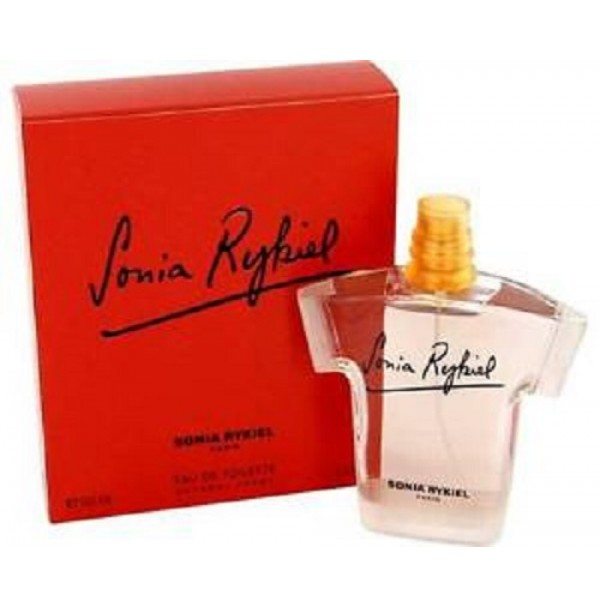 SONIA RYKIEL 100ML EDT SPRAY FOR WOMEN(DISCONTINUED)BY SONIA RYKIEL.DAMAGED SEAL