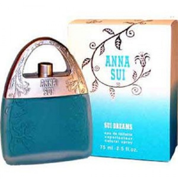 SUI DREAMS 75ML EDT SPRAY FOR WOMEN BY ANNA SUI - DISCONTINUED