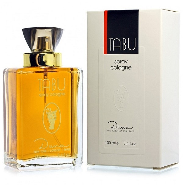 TABU 100ML EDC SPRAY FOR WOMEN BY DANA