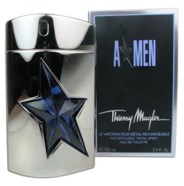 THIERRY MUGLER A MEN 100ML MENS PERFUME SPRAY REFILLABLE BY THIERRY MUGLER