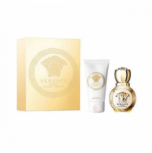 VERSACE EROS POUR FEMME 30ML TWIN PACK EDP SPRAY FOR WOMEN BY VERSACE