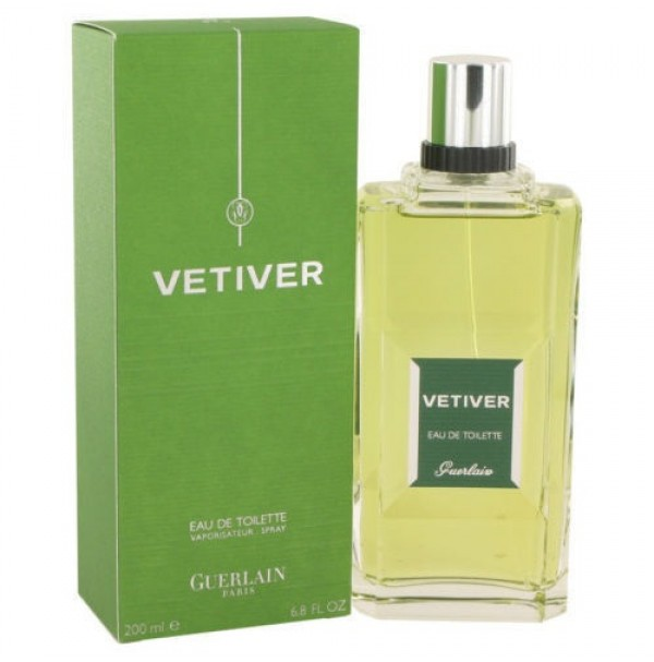 VETIVER 100ML EDT SPRAY FOR MEN BY GUERLAIN. DISCONTINUED